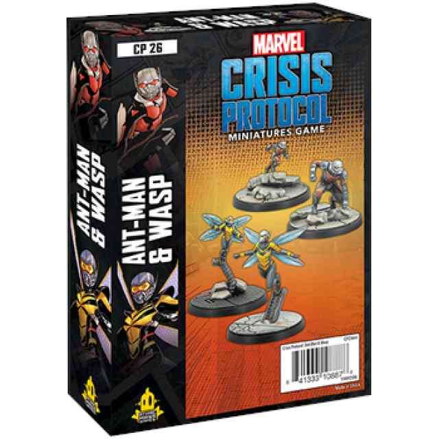 Marvel Crisis Protocol: Ant-Man and Wasp EN TABLERUM