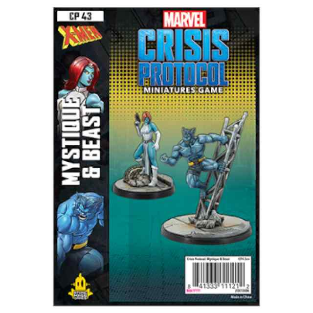 Marvel Crisis Protocol Mystique & Beast EN TABLERUM