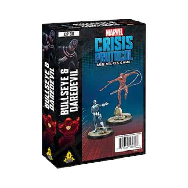 Marvel Crisis Protocol Bullseye and Daredevil Pack EN TABLERUM