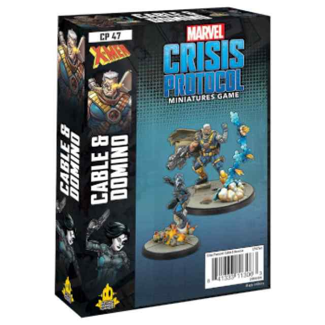 Marvel Crisis Protocol: Domino & Cable EN TABLERUM