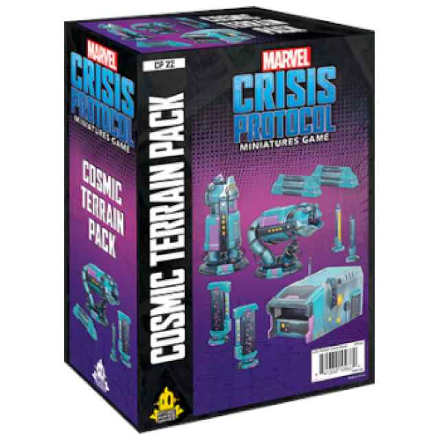 Marvel Crisis Protocol Cosmic Terrain Pack EN TABLERUM