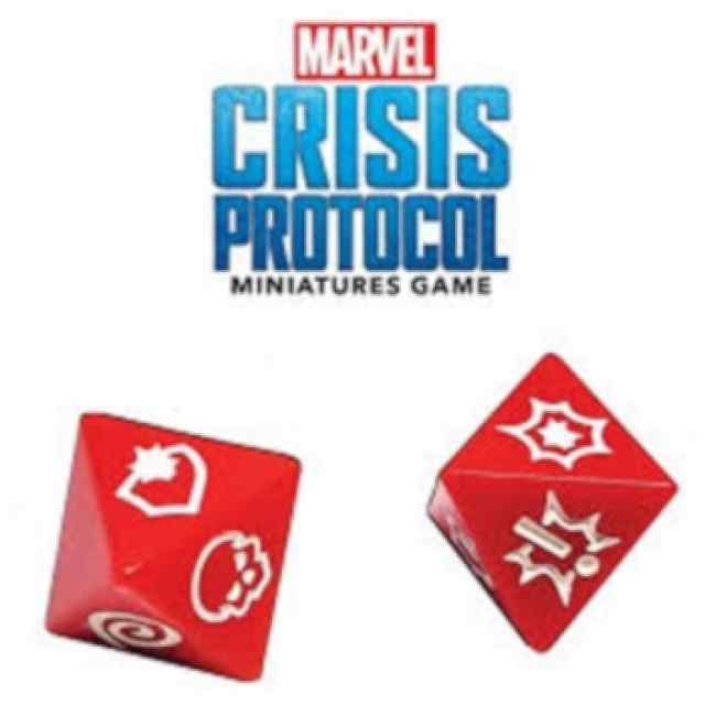 Marvel Crisis Protocol: Pack Dados TABLERUM