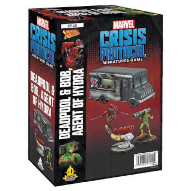 Marvel Crisis Protocol: Deadpool & Bob EN TABLERUM
