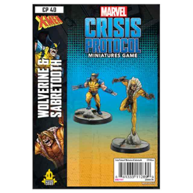 Marvel Crisis Protocol Wolverine & Sabretooth EN TABLERUM
