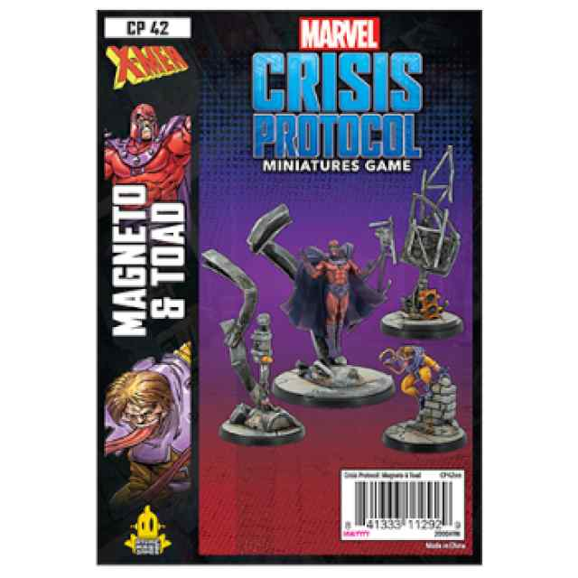 Marvel Crisis Protocol Magneto & Toad EN TABLERUM