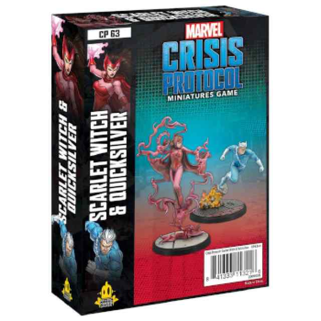 Marvel Crisis Protocol: Scarlet Witch & Quicksilver EN TABLERUM