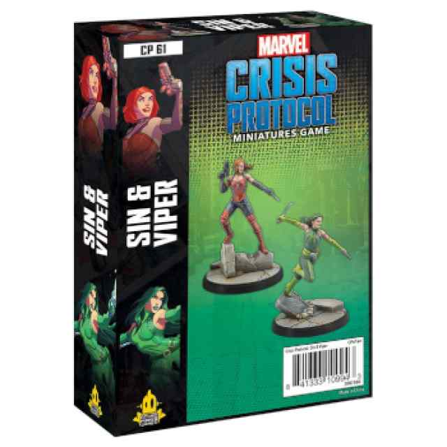 Marvel Crisis Protocol: Sin & Viper EN TABLERUM