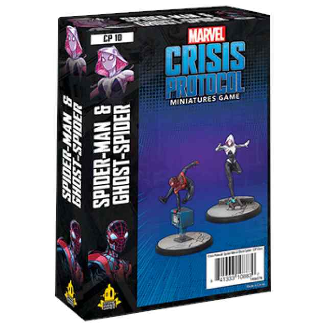 Marvel Crisis Protocol: Spider-Man & Ghost Spider EN TABLERUM