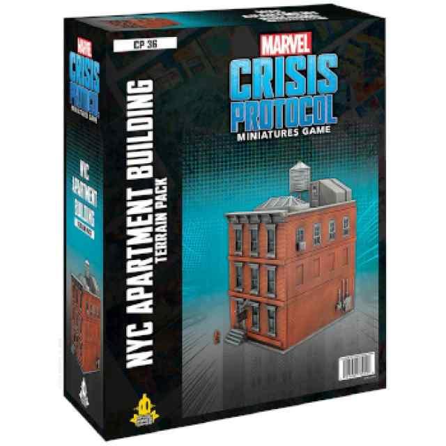 Marvel Crisis Protocol NYC Apartment Building Terrain EN TABLERUM
