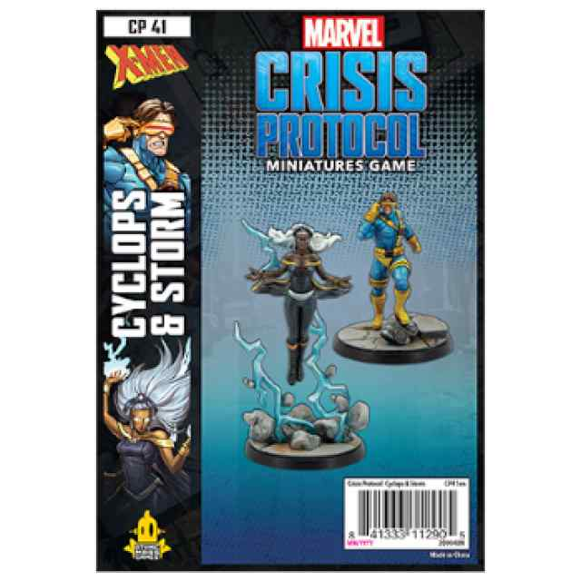 Marvel Crisis Protocol Storm & Cyclops EN TABLERUM