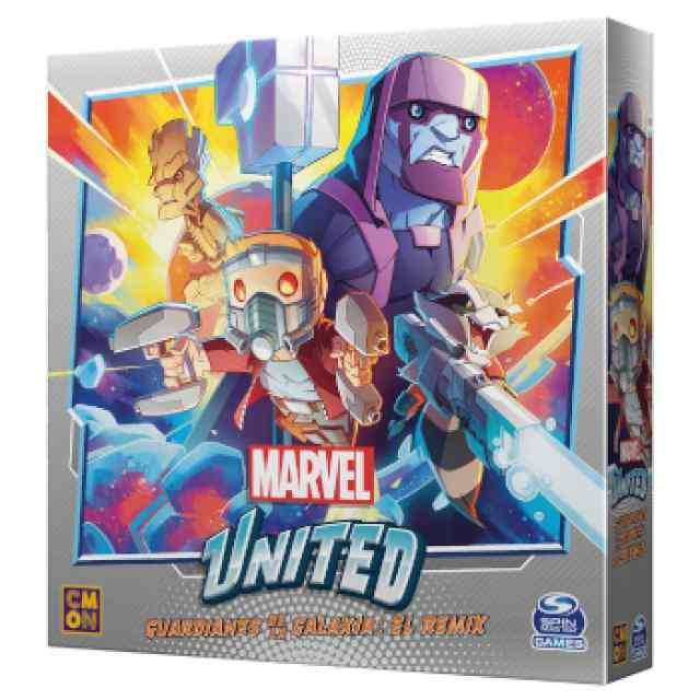 Marvel United: Guardianes de la Galaxia: El Remix TABLERUM