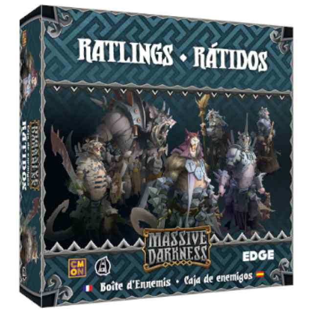 Massive Darkness: Caja de enemigos: Rátidos TABLERUM