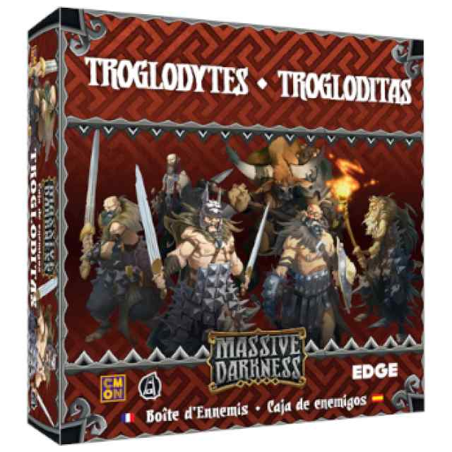 Massive Darkness: Caja de enemigos: Trogloditas TABLERUM