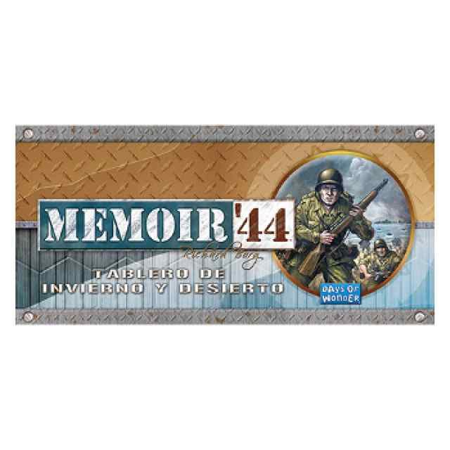 Memoir 44: Tablero de Invierno y Desierto TABLERUM