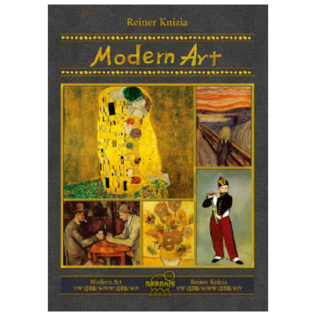 Modern Art (Ed. Coreana de lujo) TABLERUM