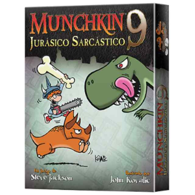 Munchkin 9: Jurásico Sarcástico TABLERUM