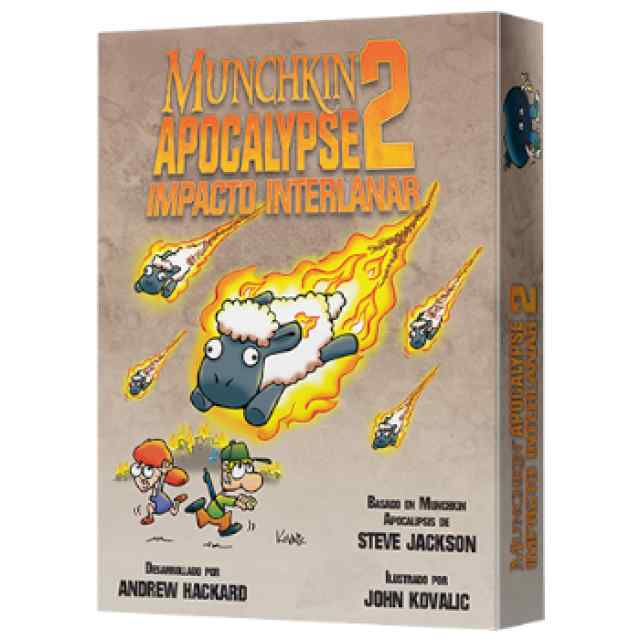 Munchkin Apocalypse 2: Impacto Interlanar TABLERUM