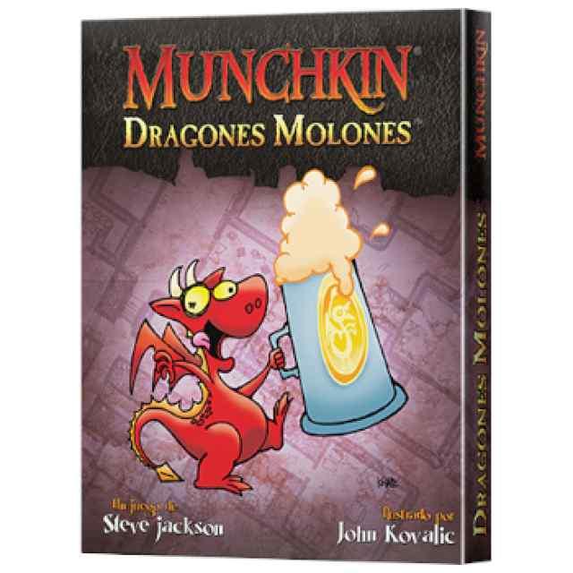 Munchkin: Dragones Molones TABLERUM