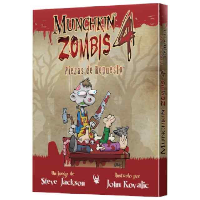Munchkin Zombis 4: Piezas de Repuesto TABLERUM