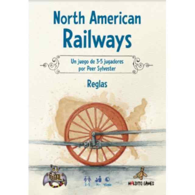 North American Railways (Edición Multi-idiomas) TABLERUM