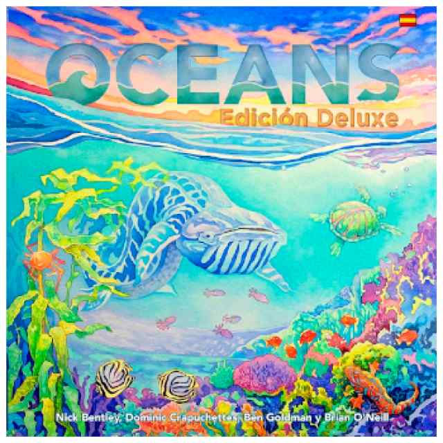 Oceans Edición De Luxe TABLERUM