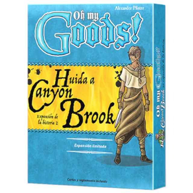Oh My Goods! Huida a Canyon Brook TABLERUM