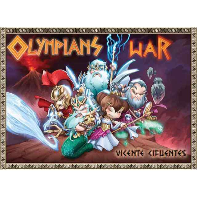 juego olympians war