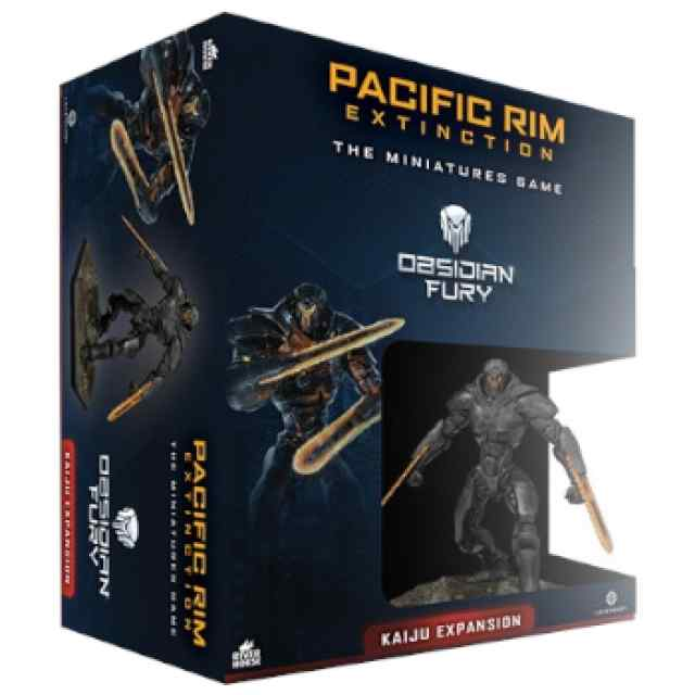 Pacific Rim Kaiju Expansión Obsidian Fury TABLERUM