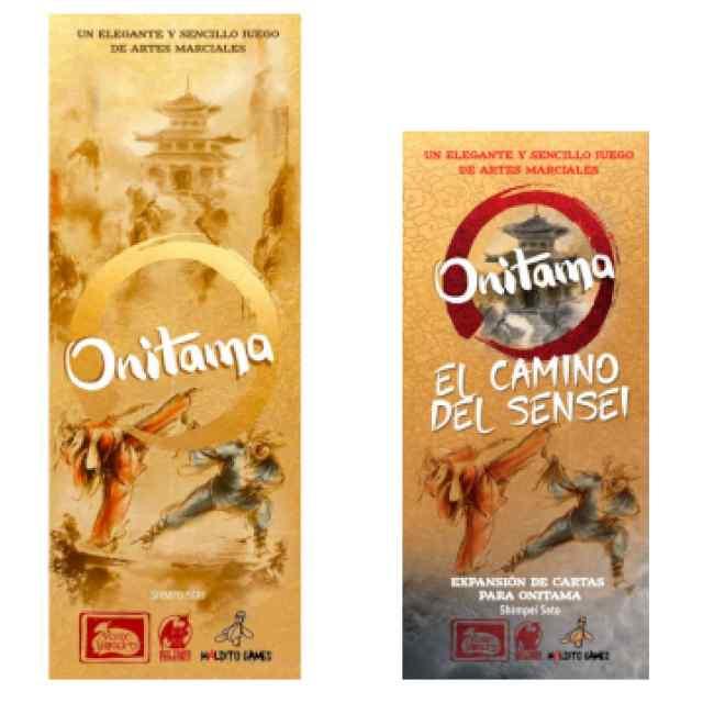 Onitama + Onitama:El Camino del Sensei TABLERUM