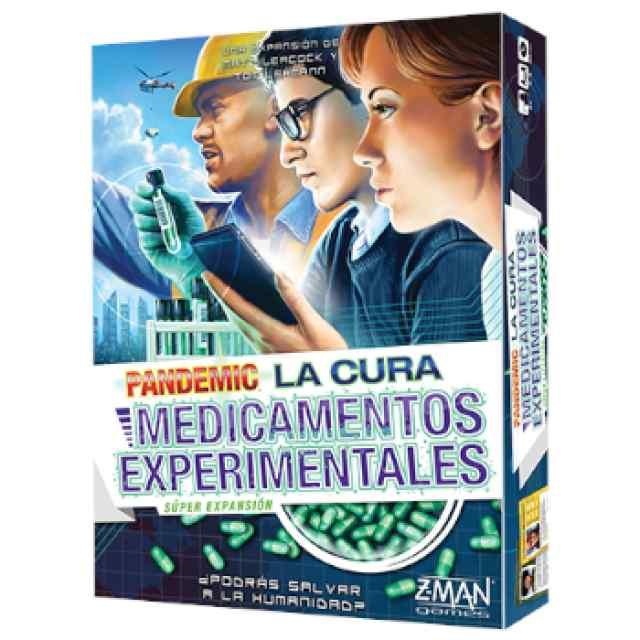 Pandemic: La Cura: Medicamentos Experimentales TABLERUM