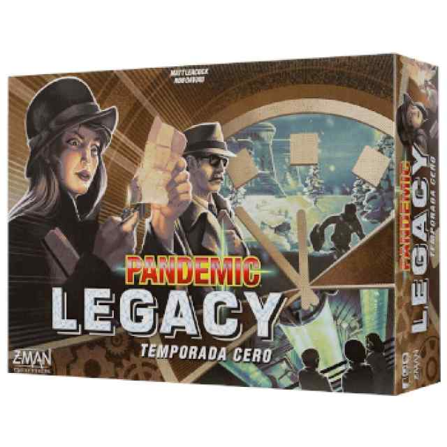 Pandemic Legacy Temporada 0 TABLERUM