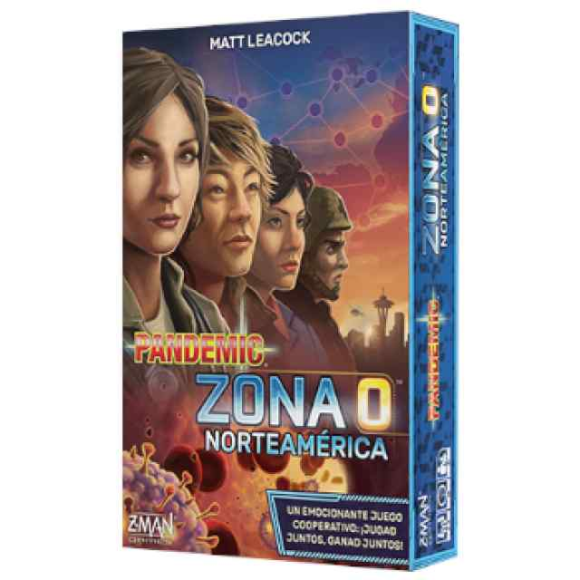 Pandemic: Zona 0 Norteamérica TABLERUM