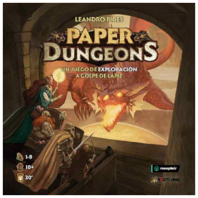 Paper Dungeons TABLERUM