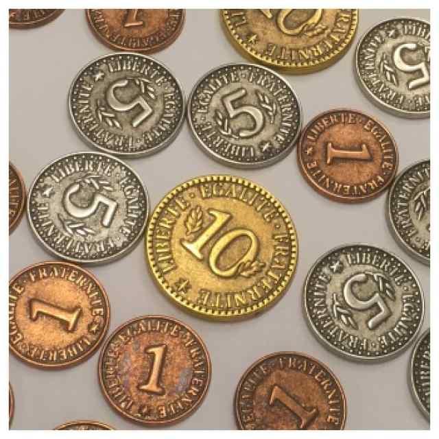 París: Monedas Metálicas TABLERUM