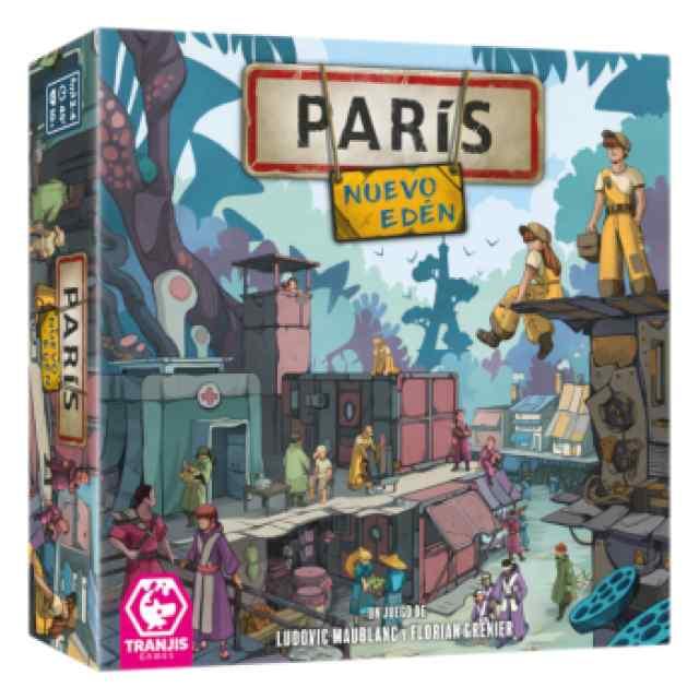 París Nuevo Edén TABLERUM