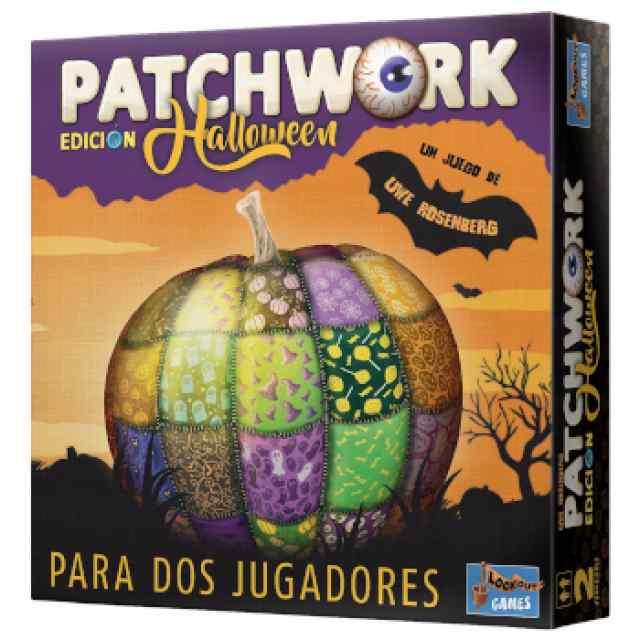 Patchwork Halloween TABLERUM