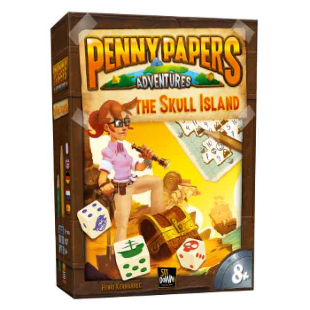 Penny Papers: La Isla de la Calavera TABLERUM