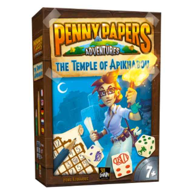 Penny Papers: El templo de Apikhabou TABLERUM