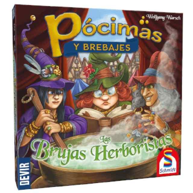 Pócimas y Brebajes: Las Brujas Herboristas TABLERUM
