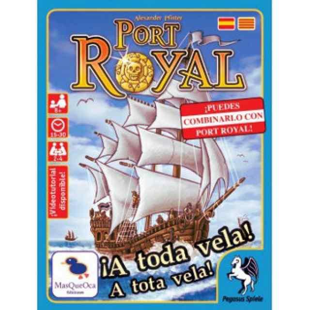 port royal a toda vela juego de mesa
