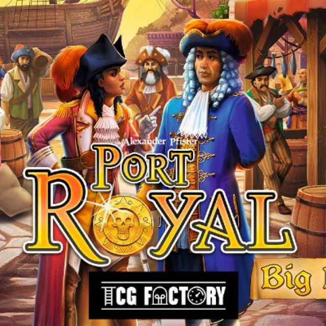 Port Royal Big Box TABLERUM