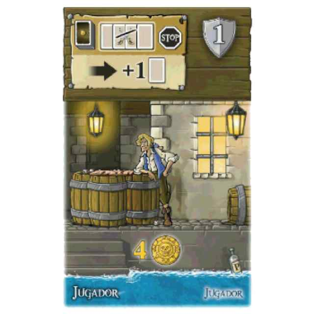 Port Royal: (Mini Expansion) El Jugador TABLERUM