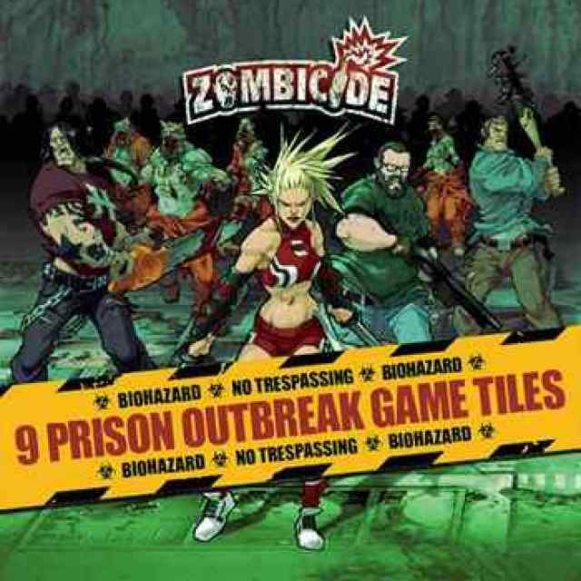 comprar Zombicide: Prison Outbreak Game Tiles