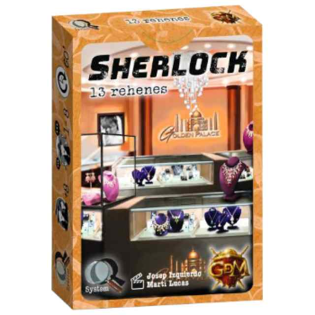 Q Sherlock: 13 Rehenes TABLERUM