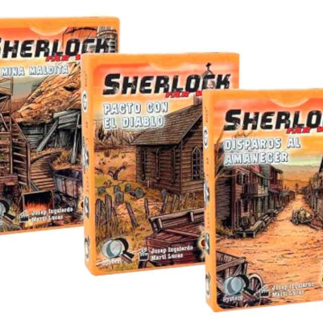 Q Sherlock Far West Pack TABLERUM