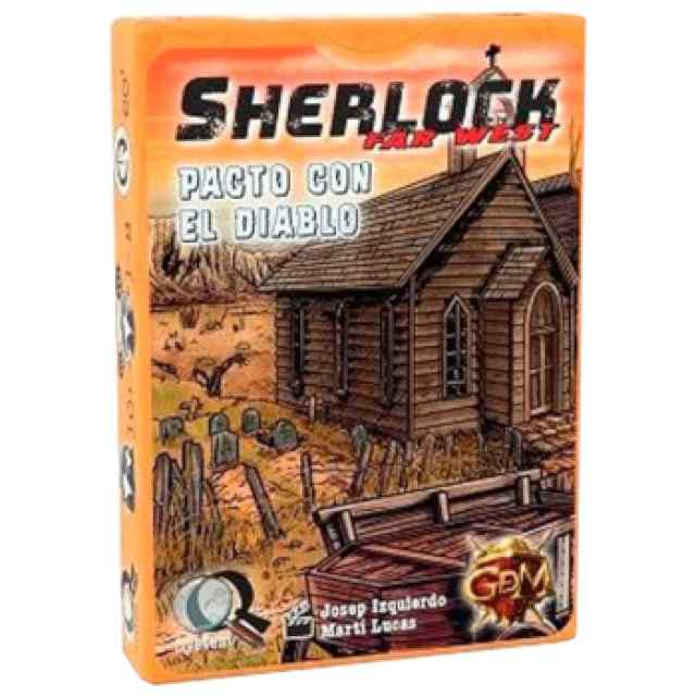 Q Sherlock Far West: Pacto con el diablo TABLERUM