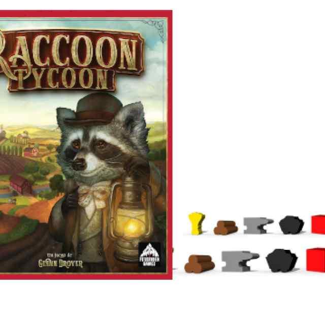 Raccoon Tycoon + Componentes de Madera TABLERUM