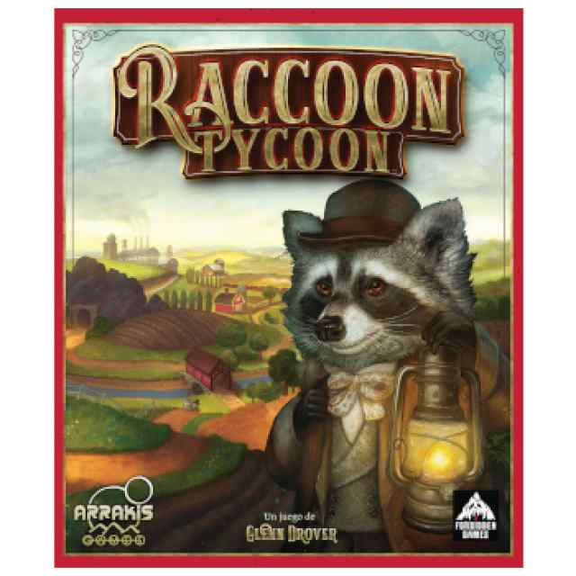 Raccoon Tycoon TABLERUM