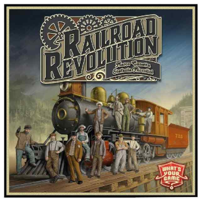 Railroad Revolution (INGLÉS) TABLERUM