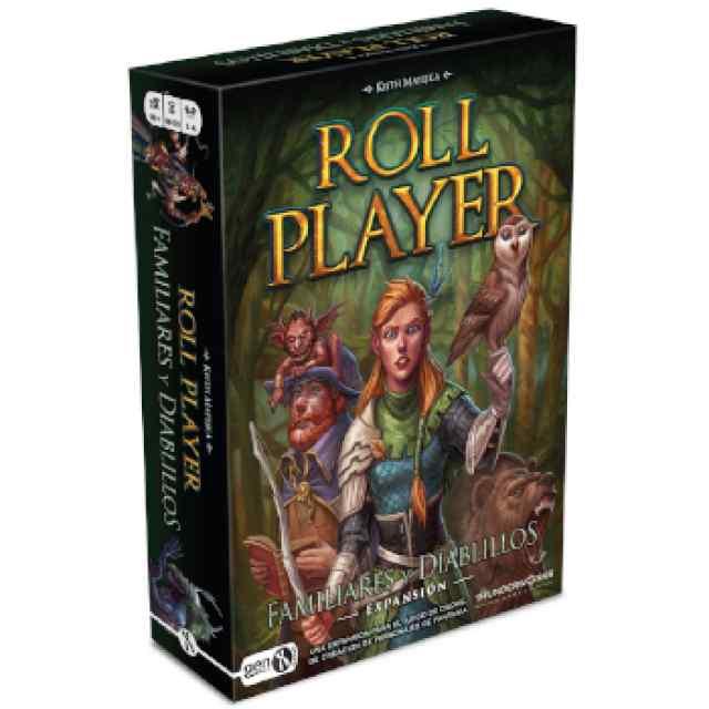 Título: Roll Player: Familiares y Diablillos TABLERUM